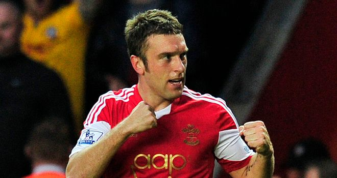 Rickie Lambert linked up superbly with Jay Rodriguez for Southampton
