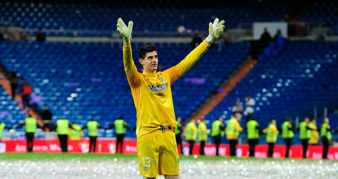 Thibaut Courtois: Atletico goalkeeper's error saw Zenit secure 1-1 draw