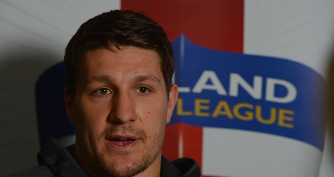 Gareth Widdop: Eager to start England's World Cup opener against Australia on Saturday