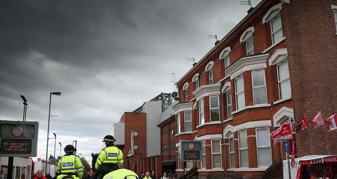 Liverpool can take a further step in their plans to redevelop Anfield