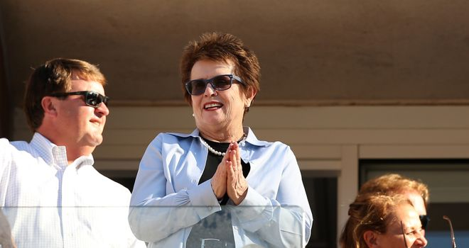 Billie Jean King: Was the pioneer of equality between the sexes in tennis