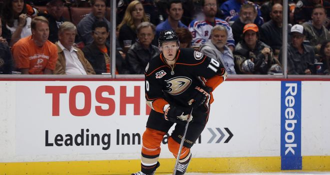 Corey Perry: Scored twice for the Anaheim Ducks