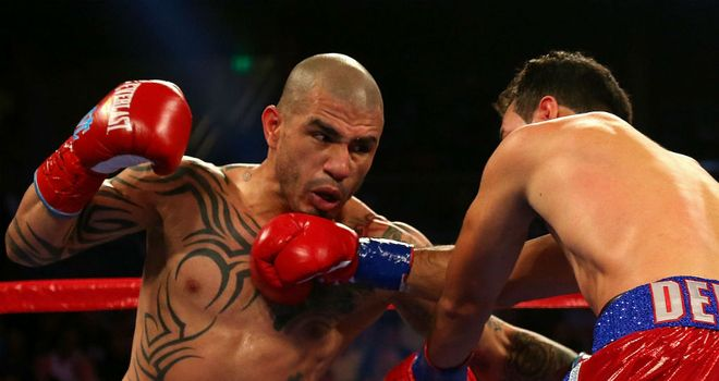 Miguel Cotto: Poised for his first fight at middleweight