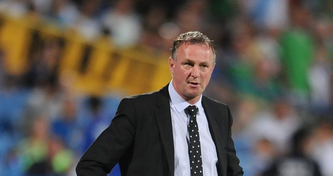 Michael O'Neill: Northern Ireland boss has mixed emotions over Luis Suarez's absence