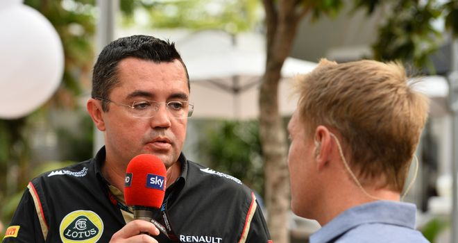 "Eric Boullier: Reckons Maldonado needs ""proper support"""
