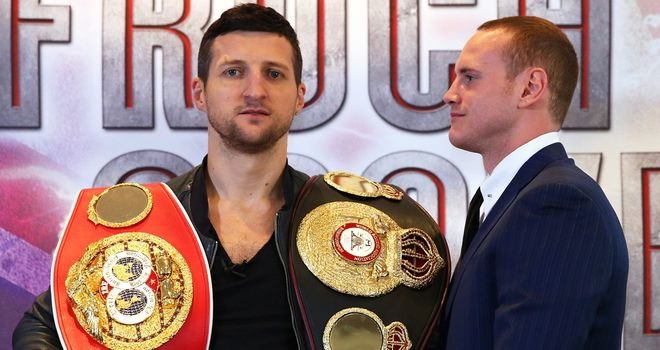Carl Froch: Believes he is a class above George Groves