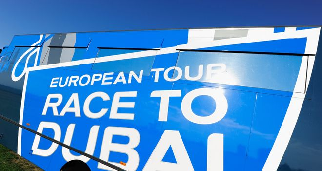 The European Tour Race To Dubai is in its fifth year