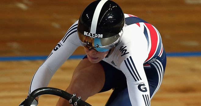 Becky James will lead Britain's challenge in the women's sprint events