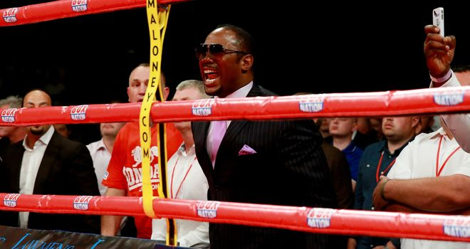 Lennox Lewis would return to the ring - for $100m