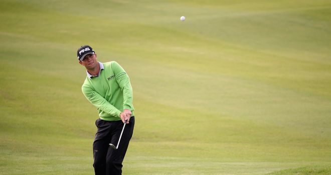 Luke Guthrie: Has seen his advantage at the BMW Masters slip away