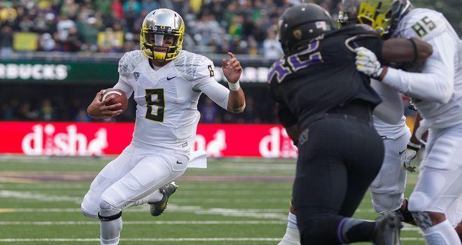 Marcus Mariota: A top performer so far for Oregon
