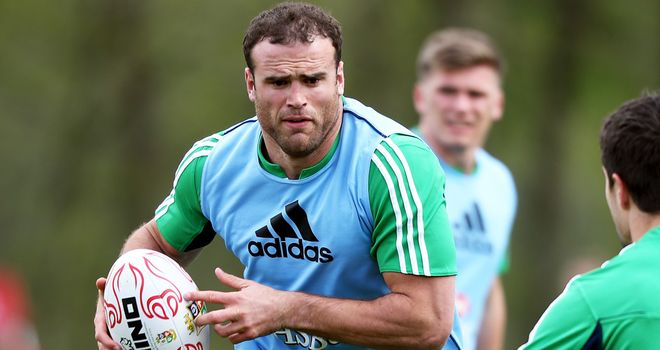 Jamie Roberts: Could face Harlequins this weekend