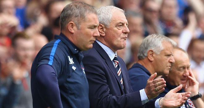 Ally McCoist: Praised support shown by Rangers fans