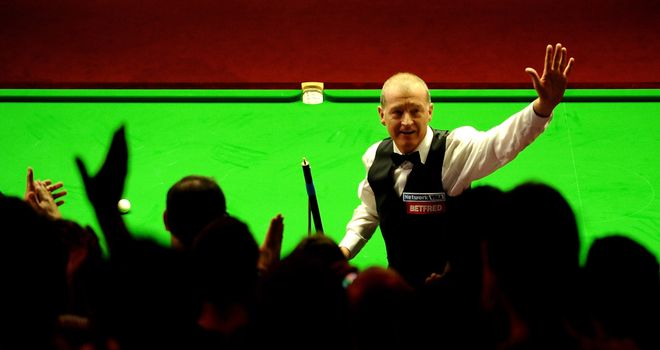 Steve Davis: Senior champion for the first time
