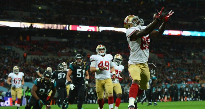 This year's NFL International Series game between Jacksonville Jaguars and San Francisco 49ers