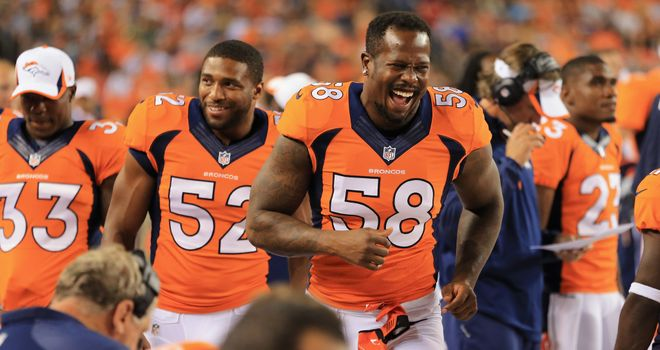 Von Miller is back with the Denver Broncos