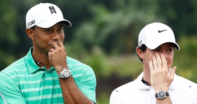 Tiger Woods: Backing Rory McIlroy to get back to winning ways soon