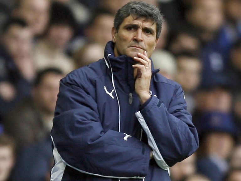 Juande Ramos: Lasted just under a year as Spurs boss