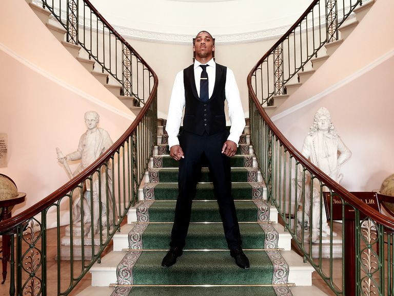 Anthony Joshua: Will fight Welshman Dorian Darch