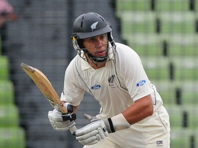 Ross Taylor: Ended the day on 37 not out