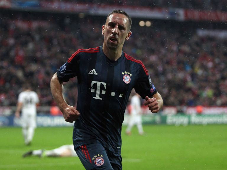Franck Ribery: Bookmakers' favourite to win the Ballon d'Or