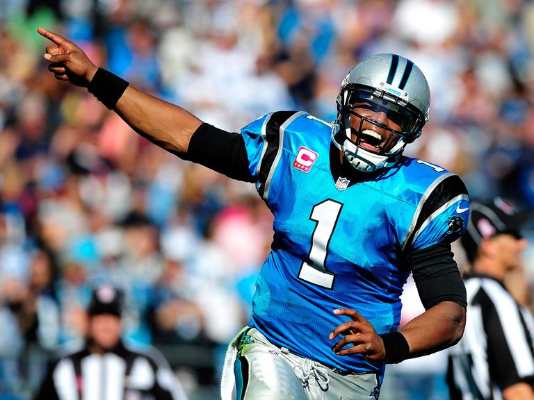 Cam Newton: Good day for the Panthers