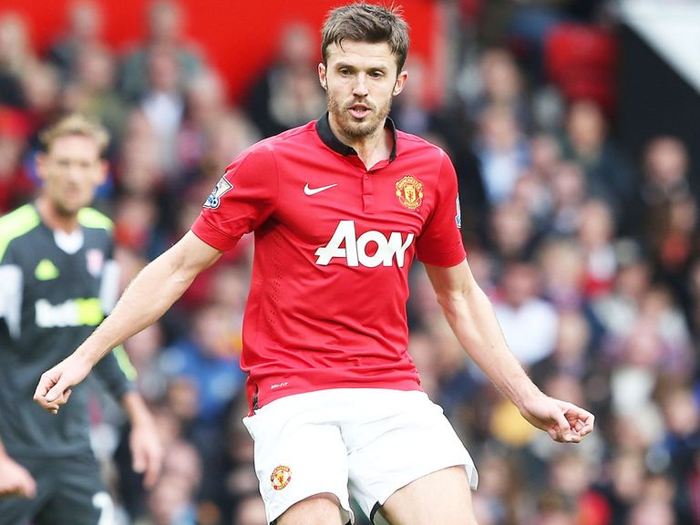 Michael Carrick: Relieved after 'vital' win over Stoke