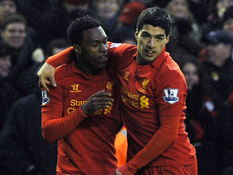 Daniel Sturridge: Full of praise for striker partner Luis Suarez