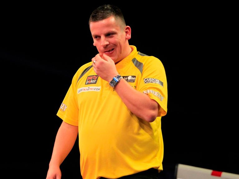 Dave Chisnall: Sent packing in the first round by John Henderson