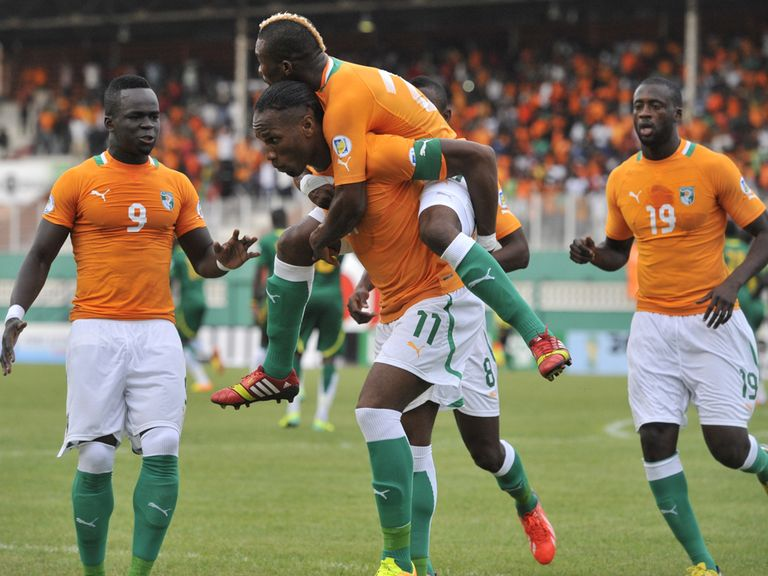 Celebrations for Ivory Coast.