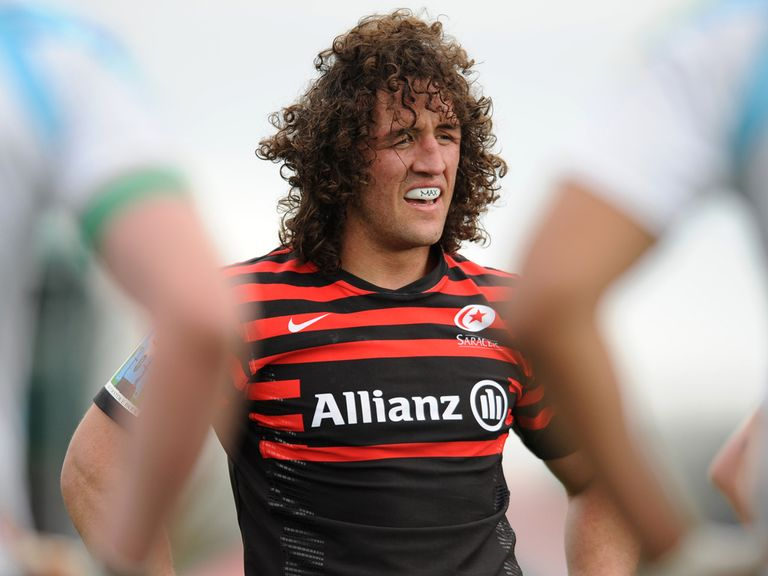 Jacques Burger: Will start for Saracens on Friday night