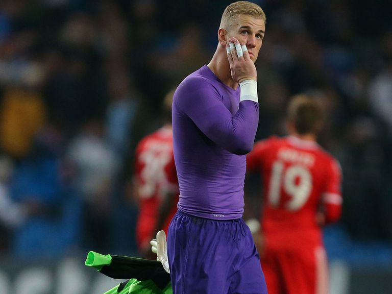 Joe Hart: Challenged by goalkeeping legend