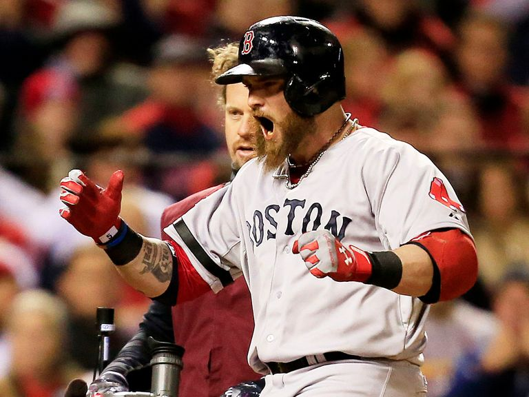 Jonny Gomes: Hero of game four of the World Series