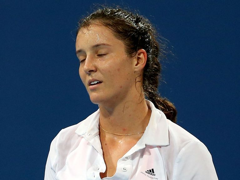 Laura Robson: Lost in straight sets to Date-Krumm
