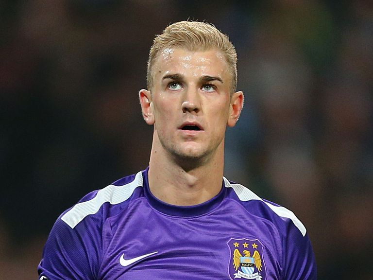 Joe Hart: Backed by his team-mates