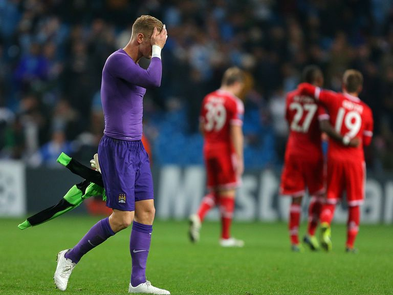 Bayern enjoyed a good night but Joe Hart did not