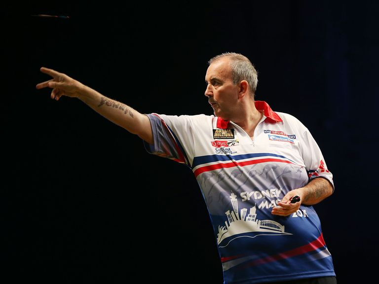 Phil Taylor: Made light work of Gary Anderson with a 3-0 success