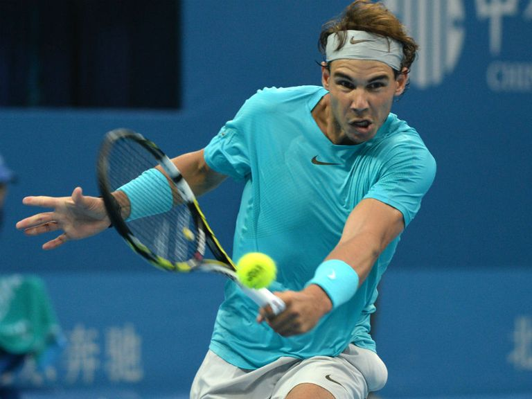 Nadal: Saw off Wawrinka after tight first set