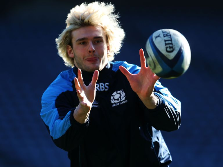 Richie Gray: Handed recall by Scotland