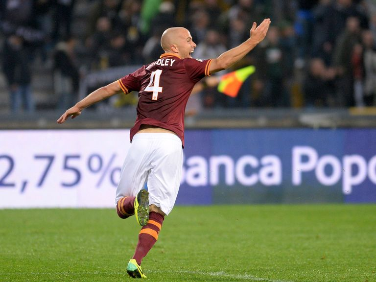 Michael Bradley scored Roma's winner at Udinese.