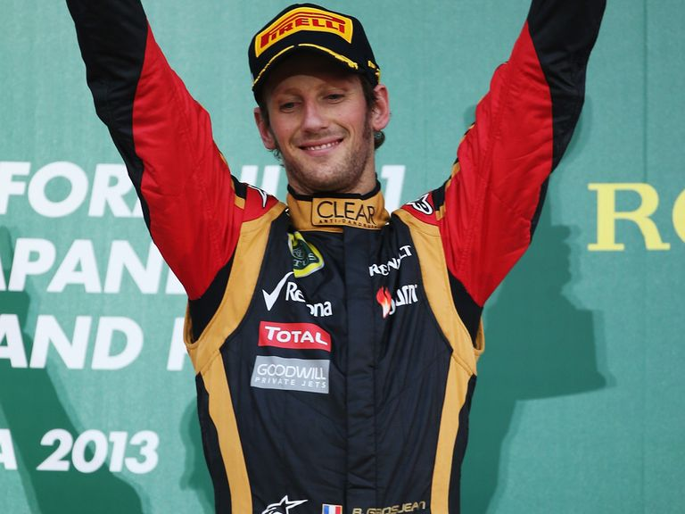 Romain Grosjean: Has been a fine form in the Lotus