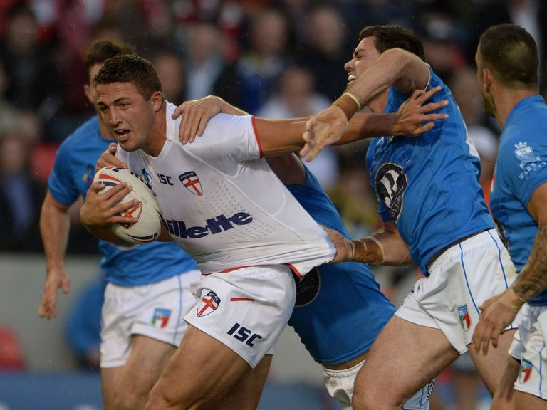 Sam Burgess; Will serve a one-match ban