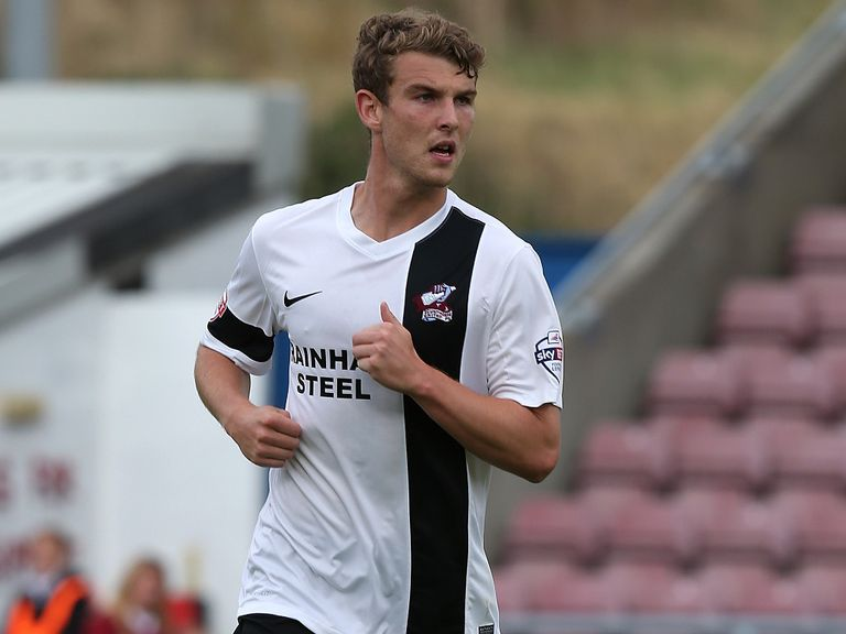 Sam Winnall: On target for Scunny in draw