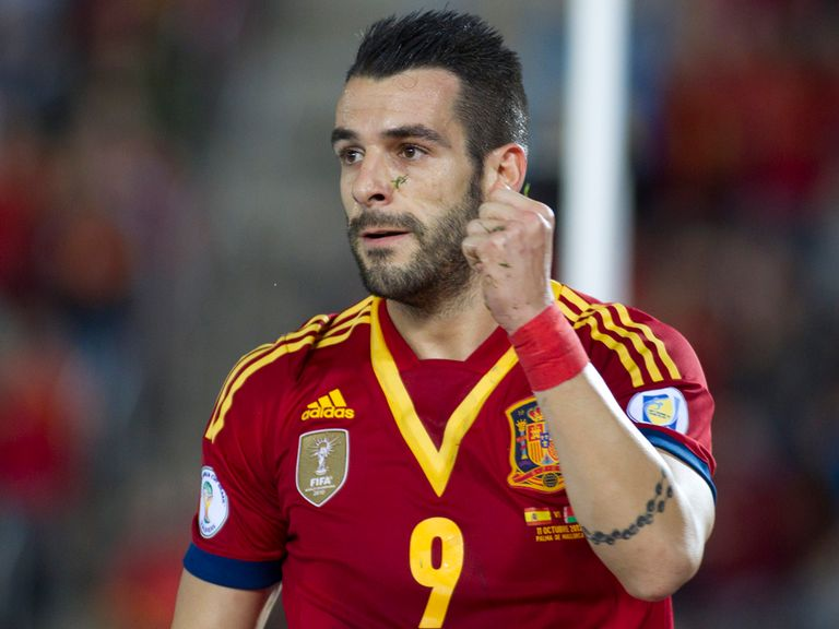 Alvaro Negredo: Hoping to secure his place in Spain team