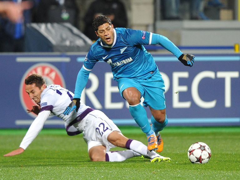 Hulk can help Zenit make an impact on Tuesday