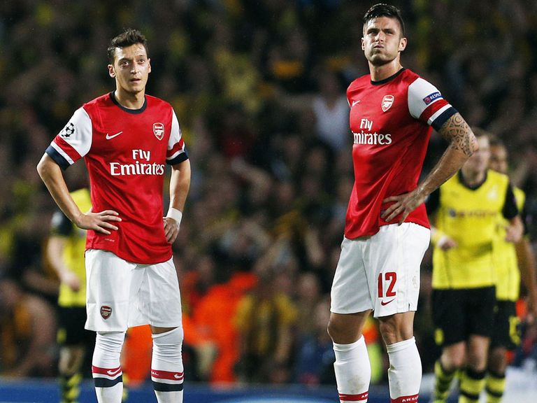 Arsenal's defeat leaves them facing a tough task to qualify
