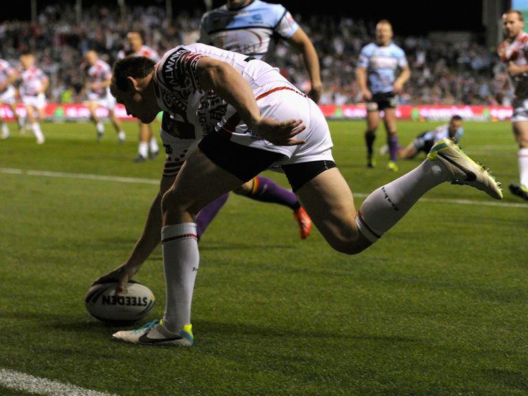 Brett Morris: Expect to see him cross for plenty of tries