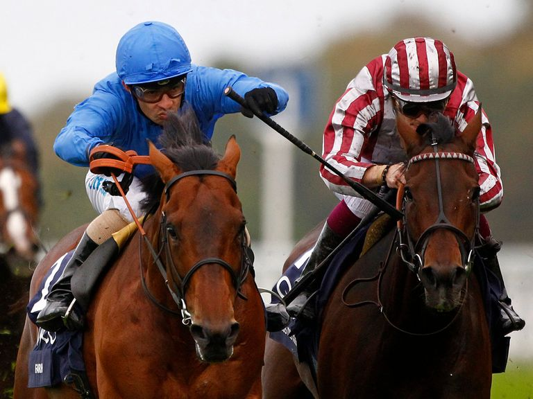 Farhh keeps the gallant Cirrus Des Aigles at bay