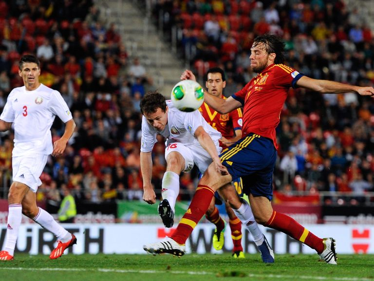 Michu: Made his Spain debut