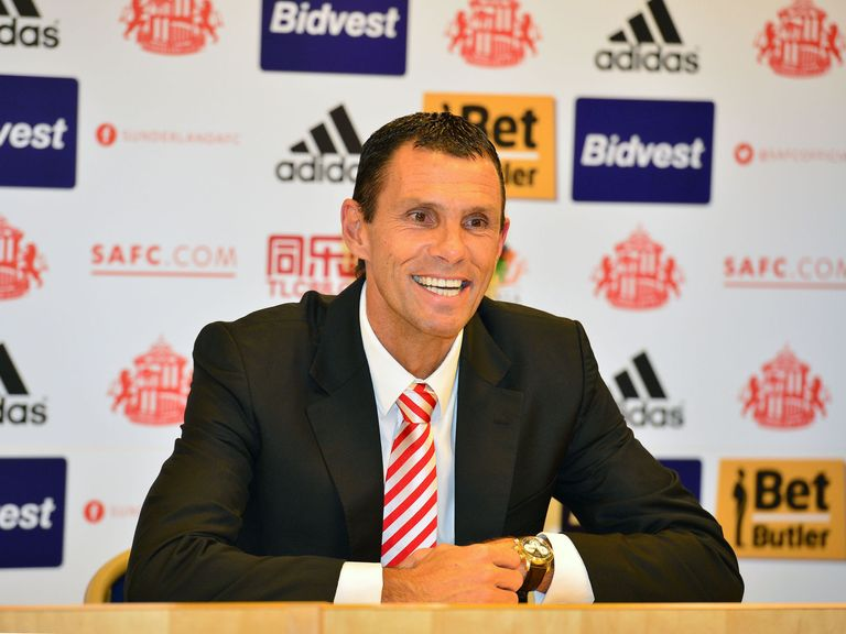 Gus Poyet: Wants to ensure 'everybody commits to the cause'